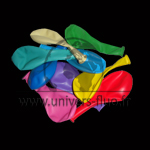 Ballon couleur x 100 Multicolore